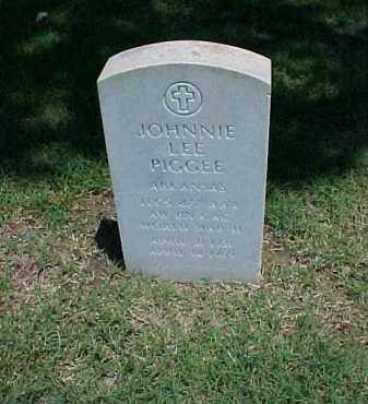 PIGGEE (VETERAN WWII), JOHNNIE LEE - Pulaski County, Arkansas | JOHNNIE LEE PIGGEE (VETERAN WWII) - Arkansas Gravestone Photos