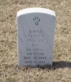PIGGEE (VETERAN VIET), LANE ELROY - Pulaski County, Arkansas | LANE ELROY PIGGEE (VETERAN VIET) - Arkansas Gravestone Photos