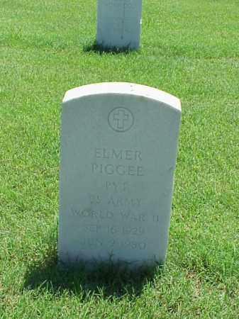PIGGEE (VETERAN WWII), ELMER - Pulaski County, Arkansas | ELMER PIGGEE (VETERAN WWII) - Arkansas Gravestone Photos