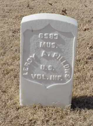 PILLOWS (VETERAN SAW), LEROY A - Pulaski County, Arkansas | LEROY A PILLOWS (VETERAN SAW) - Arkansas Gravestone Photos
