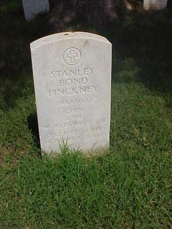 PINCKNEY (VETERAN 2 WARS), STANLEY BOND - Pulaski County, Arkansas | STANLEY BOND PINCKNEY (VETERAN 2 WARS) - Arkansas Gravestone Photos