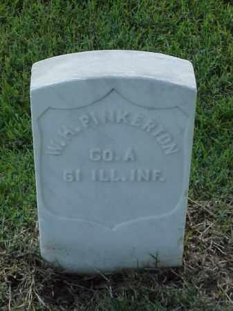 PINKERTON (VETERAN UNION), W H - Pulaski County, Arkansas | W H PINKERTON (VETERAN UNION) - Arkansas Gravestone Photos