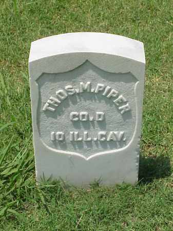 PIPER (VETERAN UNION), THOMAS M - Pulaski County, Arkansas | THOMAS M PIPER (VETERAN UNION) - Arkansas Gravestone Photos