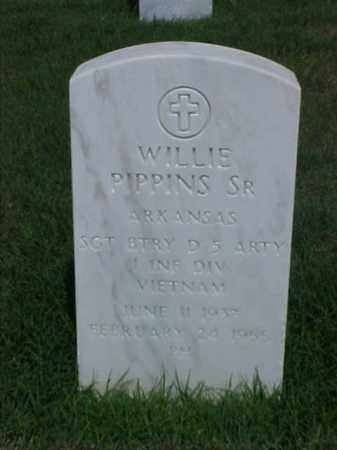 PIPPINS, SR (VETERAN VIET), WILLIE - Pulaski County, Arkansas | WILLIE PIPPINS, SR (VETERAN VIET) - Arkansas Gravestone Photos