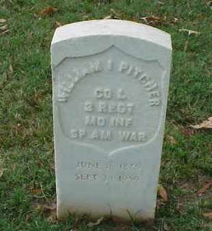 PITCHER (VETERAN SAW), WILLIAM I - Pulaski County, Arkansas | WILLIAM I PITCHER (VETERAN SAW) - Arkansas Gravestone Photos