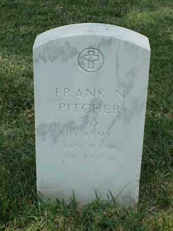 PITCHER (VETERAN WWII), FRANK NOLAN - Pulaski County, Arkansas | FRANK NOLAN PITCHER (VETERAN WWII) - Arkansas Gravestone Photos