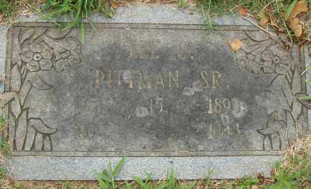 PITTMAN, SR., LEE O. - Pulaski County, Arkansas | LEE O. PITTMAN, SR. - Arkansas Gravestone Photos