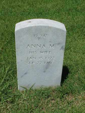 PITTS, ANNA M - Pulaski County, Arkansas | ANNA M PITTS - Arkansas Gravestone Photos