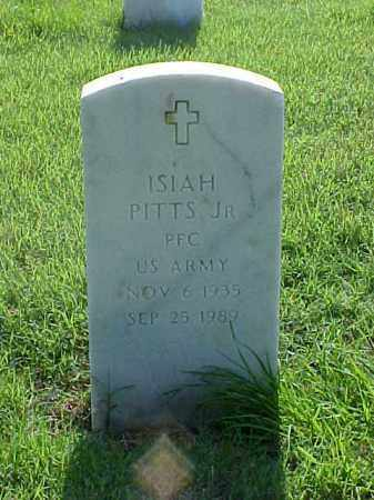 PITTS, JR (VETERAN), ISIAH - Pulaski County, Arkansas | ISIAH PITTS, JR (VETERAN) - Arkansas Gravestone Photos