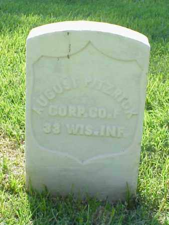 PITZRICK (VETERAN UNION), AUGUST - Pulaski County, Arkansas | AUGUST PITZRICK (VETERAN UNION) - Arkansas Gravestone Photos