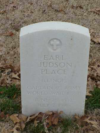 PLACE (VETERAN 2 WARS), EARL JUDSON - Pulaski County, Arkansas | EARL JUDSON PLACE (VETERAN 2 WARS) - Arkansas Gravestone Photos