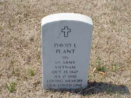 PLANT (VETERAN VIET), DAVID L - Pulaski County, Arkansas | DAVID L PLANT (VETERAN VIET) - Arkansas Gravestone Photos