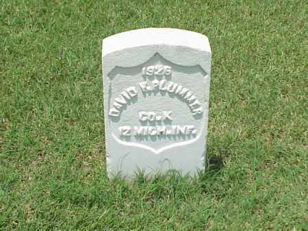 PLUMMER (VETERAN UNION), DAVID F - Pulaski County, Arkansas | DAVID F PLUMMER (VETERAN UNION) - Arkansas Gravestone Photos