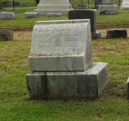 PLUNKETT, ELLA - Pulaski County, Arkansas | ELLA PLUNKETT - Arkansas Gravestone Photos