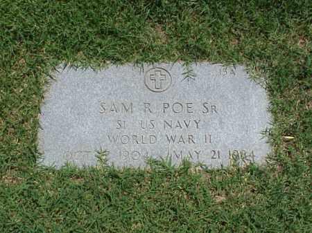 POE, SR (VETERAN WWII), SAM R - Pulaski County, Arkansas | SAM R POE, SR (VETERAN WWII) - Arkansas Gravestone Photos