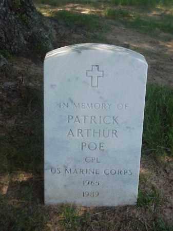 POE (VETERAN), PATRICK ARTHUR - Pulaski County, Arkansas | PATRICK ARTHUR POE (VETERAN) - Arkansas Gravestone Photos