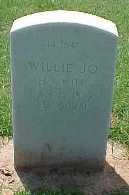 POE, WILLIE JO - Pulaski County, Arkansas | WILLIE JO POE - Arkansas Gravestone Photos