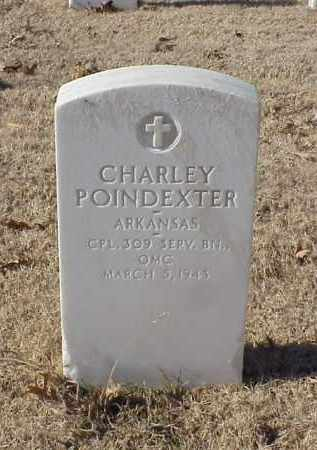 POINDEXTER (VETERAN WWI), CHARLEY - Pulaski County, Arkansas | CHARLEY POINDEXTER (VETERAN WWI) - Arkansas Gravestone Photos