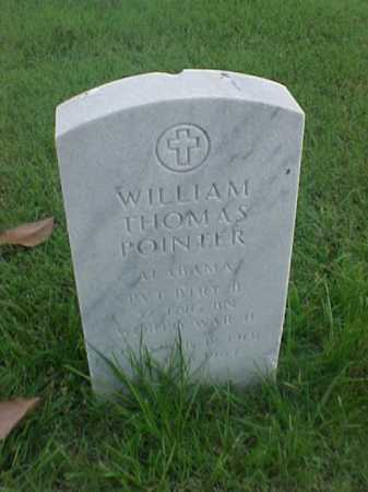 POINTER (VETERAN WWII), WILLIAM THOMAS - Pulaski County, Arkansas | WILLIAM THOMAS POINTER (VETERAN WWII) - Arkansas Gravestone Photos