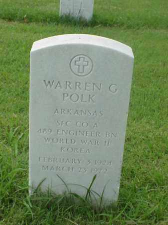POLK (VETERAN 2 WARS), WARREN G - Pulaski County, Arkansas | WARREN G POLK (VETERAN 2 WARS) - Arkansas Gravestone Photos