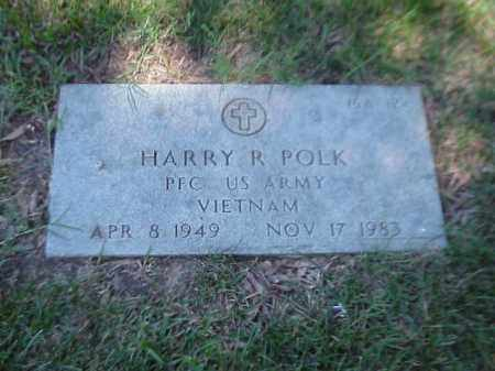 POLK (VETERAN VIET), HARRY R - Pulaski County, Arkansas | HARRY R POLK (VETERAN VIET) - Arkansas Gravestone Photos