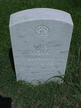 POLK (VETERAN WWI), GUY - Pulaski County, Arkansas | GUY POLK (VETERAN WWI) - Arkansas Gravestone Photos