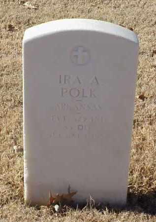 POLK (VETERAN WWI), IRA A - Pulaski County, Arkansas   IRA A POLK (VETERAN WWI) - Arkansas Gravestone Photos