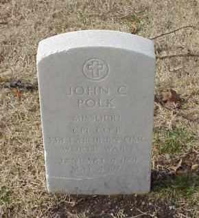 POLK (VETERAN WWI), JOHN C - Pulaski County, Arkansas | JOHN C POLK (VETERAN WWI) - Arkansas Gravestone Photos