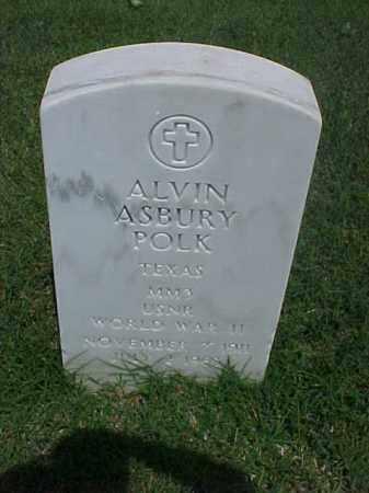 POLK (VETERAN WWII), ALVIN ASBURY - Pulaski County, Arkansas | ALVIN ASBURY POLK (VETERAN WWII) - Arkansas Gravestone Photos