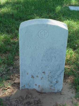 POLK (VETERAN WWII), M O - Pulaski County, Arkansas | M O POLK (VETERAN WWII) - Arkansas Gravestone Photos