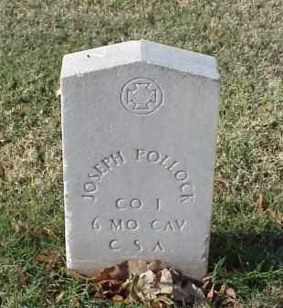 POLLOCK (VETERAN CSA), JOSEPH - Pulaski County, Arkansas | JOSEPH POLLOCK (VETERAN CSA) - Arkansas Gravestone Photos