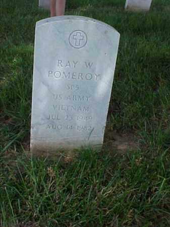 POMEROY (VETERAN VIET), RAY W - Pulaski County, Arkansas   RAY W POMEROY (VETERAN VIET) - Arkansas Gravestone Photos