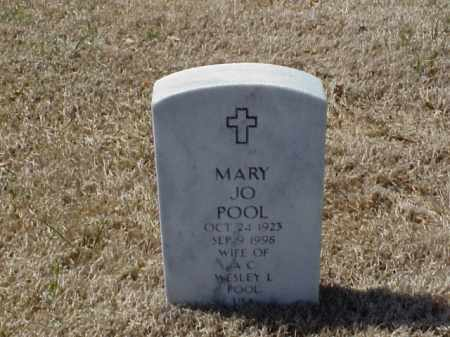 POOL, MARY JO - Pulaski County, Arkansas | MARY JO POOL - Arkansas Gravestone Photos