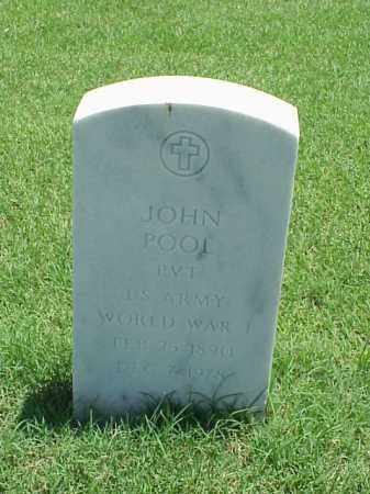 POOL (VETERAN WWI), JOHN - Pulaski County, Arkansas | JOHN POOL (VETERAN WWI) - Arkansas Gravestone Photos