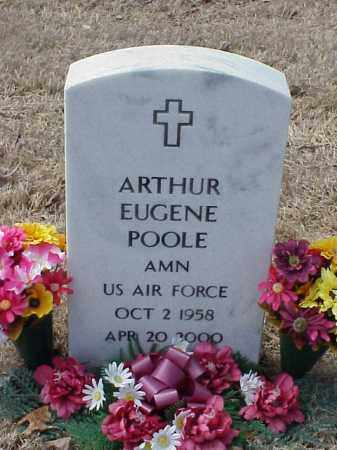 POOLE  (VETERAN), ARTHUR EUGENE - Pulaski County, Arkansas | ARTHUR EUGENE POOLE  (VETERAN) - Arkansas Gravestone Photos