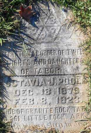 POOLE, OCTAVIA J - Pulaski County, Arkansas | OCTAVIA J POOLE - Arkansas Gravestone Photos