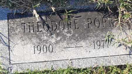 POPE, THEODORE - Pulaski County, Arkansas | THEODORE POPE - Arkansas Gravestone Photos