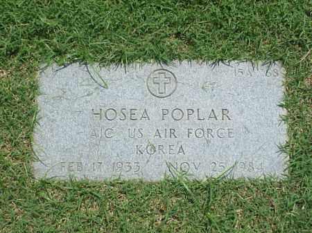 POPLAR (VETERAN KOR), HOSEA - Pulaski County, Arkansas | HOSEA POPLAR (VETERAN KOR) - Arkansas Gravestone Photos
