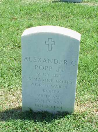 POPP, JR (VETERAN 3 WARS), ALEXANDER C - Pulaski County, Arkansas | ALEXANDER C POPP, JR (VETERAN 3 WARS) - Arkansas Gravestone Photos