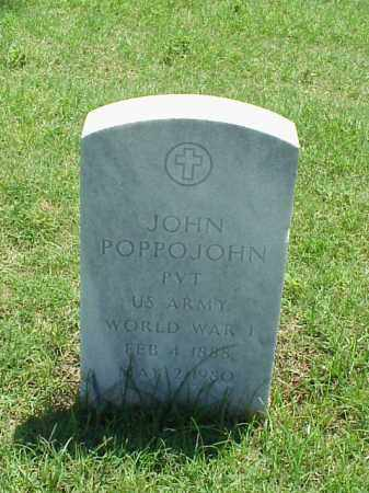 POPPOJOHN (VETERAN WWI), JOHN - Pulaski County, Arkansas | JOHN POPPOJOHN (VETERAN WWI) - Arkansas Gravestone Photos
