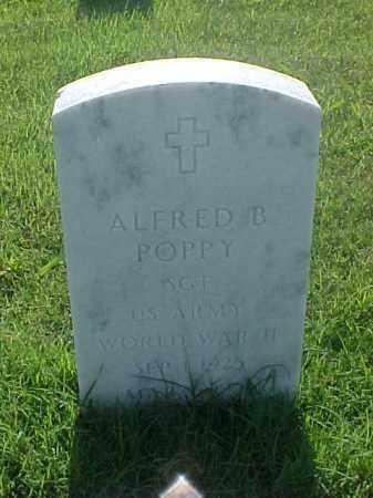 POPPY (VETERAN WWII), ALFRED B - Pulaski County, Arkansas | ALFRED B POPPY (VETERAN WWII) - Arkansas Gravestone Photos
