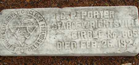 PORTER, C. P. - Pulaski County, Arkansas | C. P. PORTER - Arkansas Gravestone Photos