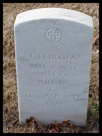 PORTER, GEORGIA - Pulaski County, Arkansas | GEORGIA PORTER - Arkansas Gravestone Photos