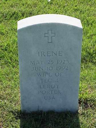 PORTER, IRENE - Pulaski County, Arkansas | IRENE PORTER - Arkansas Gravestone Photos