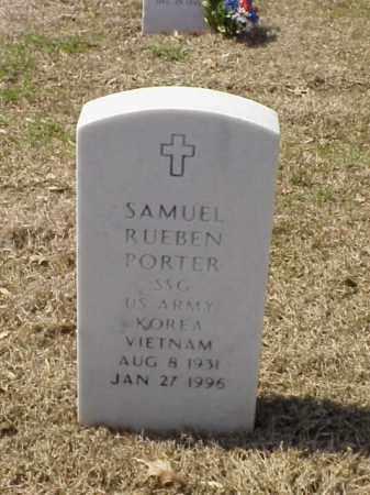 PORTER (VETERAN 2 WARS), SAMUEL RUEBEN - Pulaski County, Arkansas | SAMUEL RUEBEN PORTER (VETERAN 2 WARS) - Arkansas Gravestone Photos