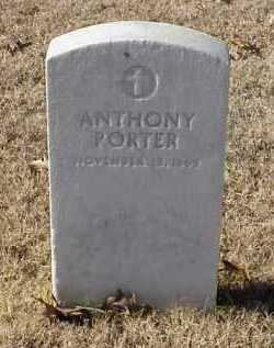 PORTER (VETERAN UNION), ANTHONY - Pulaski County, Arkansas | ANTHONY PORTER (VETERAN UNION) - Arkansas Gravestone Photos