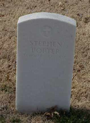 PORTER (VETERAN UNION), STEVEN - Pulaski County, Arkansas | STEVEN PORTER (VETERAN UNION) - Arkansas Gravestone Photos