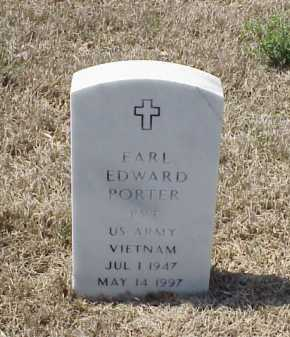 PORTER (VETERAN VIET), EARL EDWARD - Pulaski County, Arkansas | EARL EDWARD PORTER (VETERAN VIET) - Arkansas Gravestone Photos