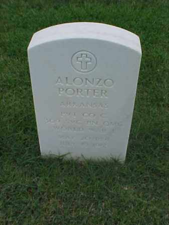 PORTER (VETERAN WWI), ALONZO - Pulaski County, Arkansas | ALONZO PORTER (VETERAN WWI) - Arkansas Gravestone Photos