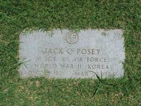 POSEY (VETERAN 2 WARS), JACK OREN - Pulaski County, Arkansas   JACK OREN POSEY (VETERAN 2 WARS) - Arkansas Gravestone Photos